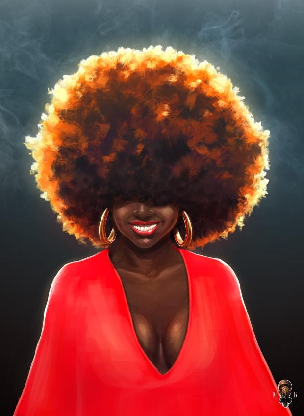 Afro n Happy_Galerie_DMinlo1