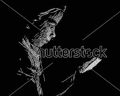 stock-vector-young-girl-using-smart-phone-in-darkness-vector-sketch-hand-drawn-illustration-329395631