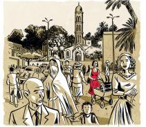 L'album BD Algériennes de Merralli et Deloupy paru aux éditions Marabout le 31 janvier 2018 évoque la guerre d'Algérie à travers les témoignages et destins croisés de plusieurs femmes, 50 ans après.